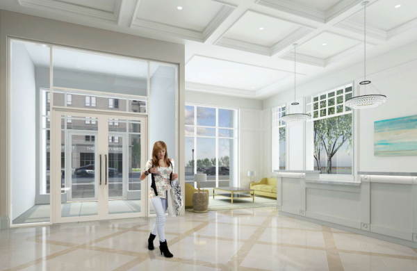 Elegant Lobby Features